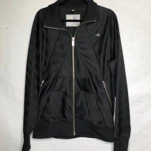 G-Star shadow stripe zip front track jacket
